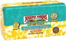 cheese marbled jack Joseph Farms Nutrition info