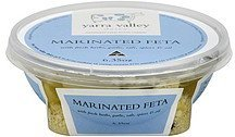 cheese marinated feta Yarra Valley Dairy Nutrition info