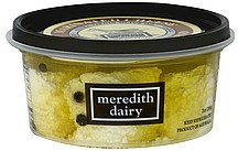 cheese marinated, sheep & goat blend Meredith Dairy Nutrition info
