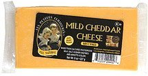 cheese mild cheddar Les Petites Fermieres Nutrition info