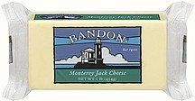 cheese monterey jack Bandon Nutrition info