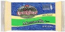 cheese mozzarella Cache Valley Nutrition info
