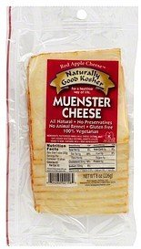 cheese muenster Naturally Good Kosher Nutrition info