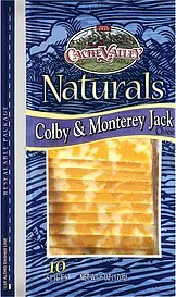 cheese naturals colby & monterey jack Cache Valley Nutrition info