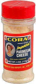 cheese parmesan Cora Nutrition info