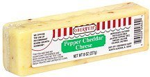 cheese pepper cheddar Oberweis Nutrition info
