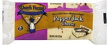 cheese pepper jack DUTCH FARMS Nutrition info