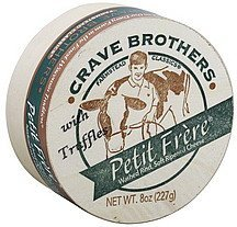 cheese petit frere, with truffles Crave Brothers Nutrition info