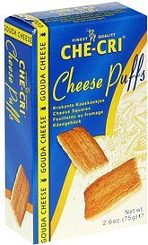 cheese puffs Che-Cri Nutrition info