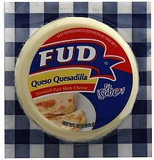 cheese quesadilla Fud Nutrition info