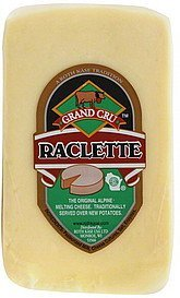 cheese raclette Grand Cru Nutrition info