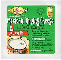 cheese restaurante style mexican dipping jalapeno El Viajero Nutrition info