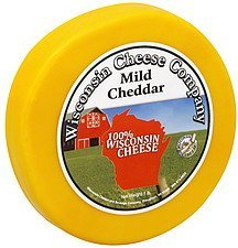 cheese round mild cheddar Wisconsin Cheese Company Nutrition info