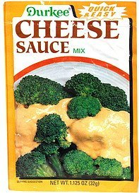 cheese sauce mix Durkee Nutrition info