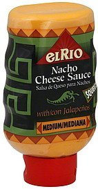 cheese sauce nacho, with jalapenos, medium El Rio Nutrition info