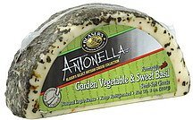 cheese semi-soft, formaggio with garden vegetable & sweet basil Blasers Nutrition info