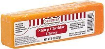 cheese sharp cheddar Oberweis Nutrition info