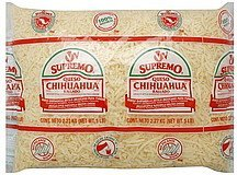 cheese shreds mexican style Supremo Nutrition info