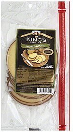 cheese smoked gouda Kings Choice Nutrition info