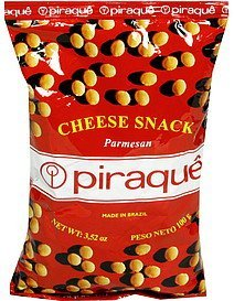 cheese snack parmesan Piraque Nutrition info