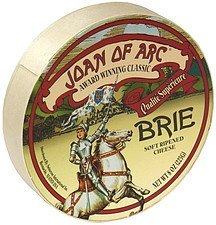 cheese soft ripened brie Joan of Arc Nutrition info