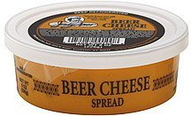cheese spread beer Judy Ann Nutrition info