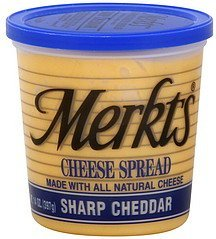 cheese spread sharp cheddar Merkts Nutrition info