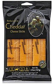 cheese sticks reduced fat, cheddar Les Petites Fermieres Nutrition info