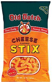 cheese stix cheese stix Old Dutch Nutrition info