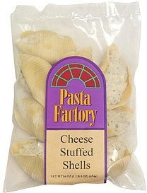 cheese stuffed shells Pasta Factory Nutrition info
