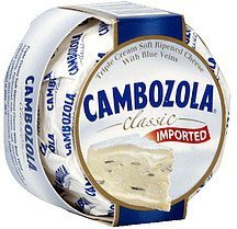cheese triple cream soft ripened with blue veins Cabozola Nutrition info