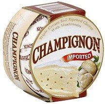 cheese triple cream soft ripened with mushrooms Champignon Nutrition info