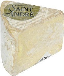 cheese triple creme soft-ripened Saint Andre Nutrition info