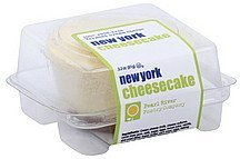 cheesecake new york, mini Pearl River Pastry Nutrition info