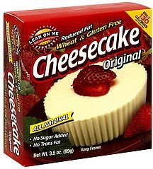 cheesecake original Lean On Me Baking Company Nutrition info