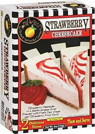 cheesecake strawberry Atlanta Cheesecake Company Nutrition info