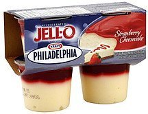 cheesecake strawberry Jell-o Nutrition info