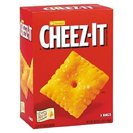 crackers cheddar Cheez-It Nutrition info