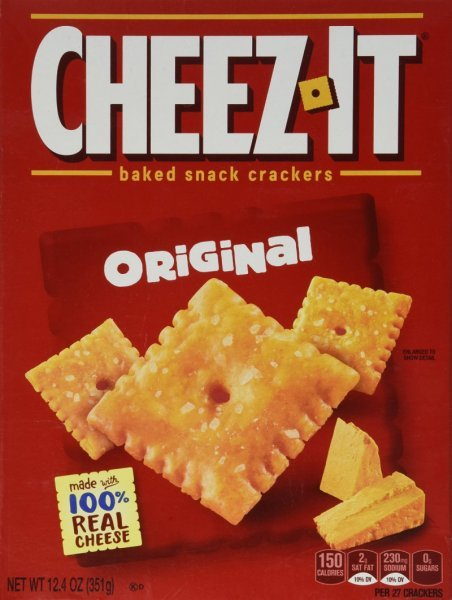 cheez-it original Cheez-It Nutrition info