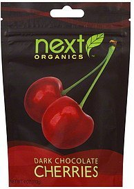 cherries dark chocolate Next Organics Nutrition info