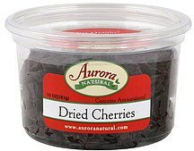 cherries dried Aurora Natural Nutrition info