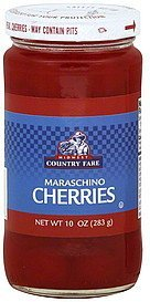 cherries maraschino Midwest Country Fare Nutrition info