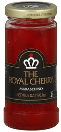 cherries maraschino The Royal Cherry Nutrition info