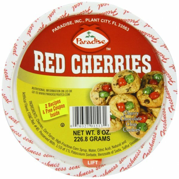 cherries red Paradise Nutrition info