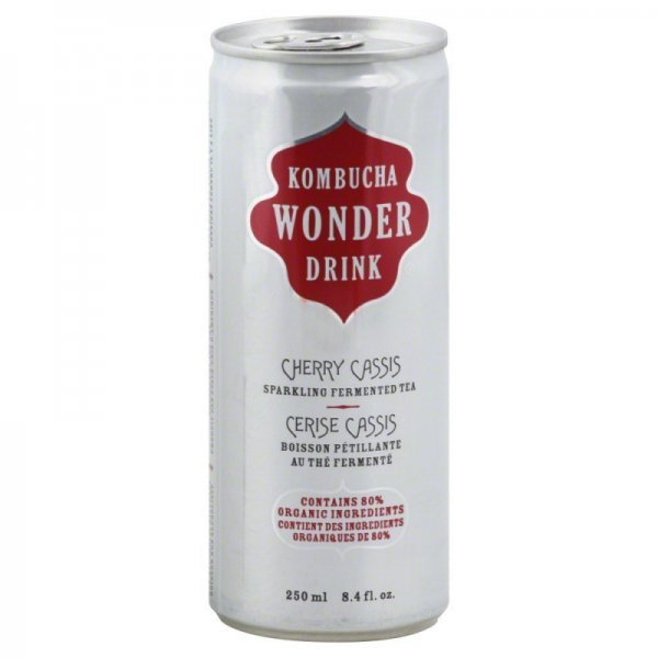 cherry cassis Kombucha Wonder Drink Nutrition info