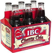 cherry cola IBC Nutrition info