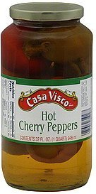 cherry peppers hot Casa Visco Nutrition info