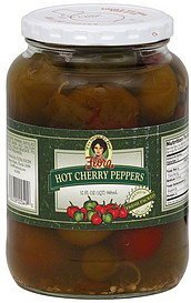 cherry peppers hot Flora Foods Nutrition info
