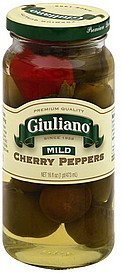 cherry peppers mild Giuliano Nutrition info