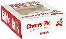 cherry pie Table Talk Nutrition info